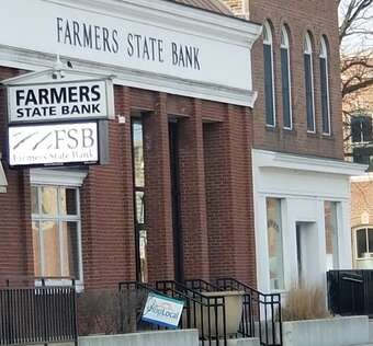Farmer's State Bank electronic message board